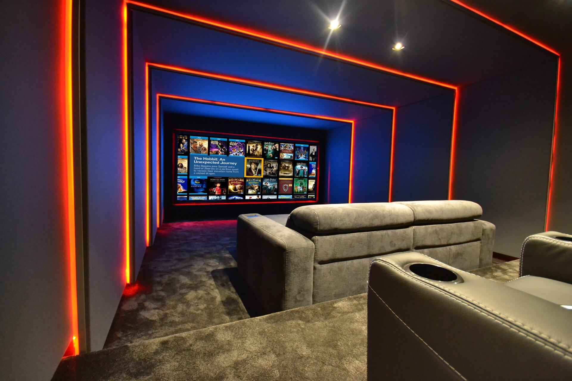 Home cinema top